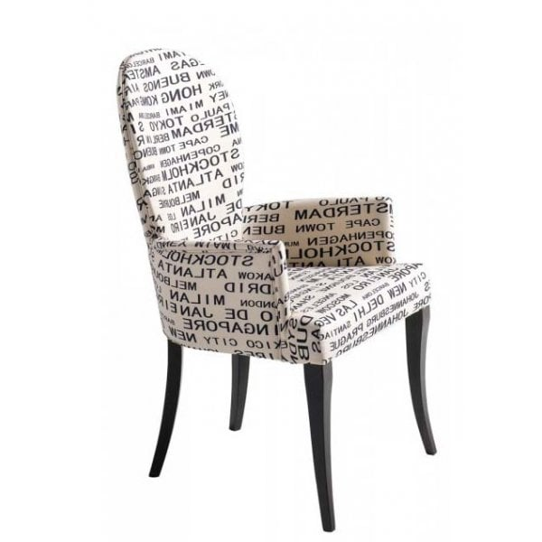 Nea 'Cities of the World' Decorative Armchair - from Ultimate