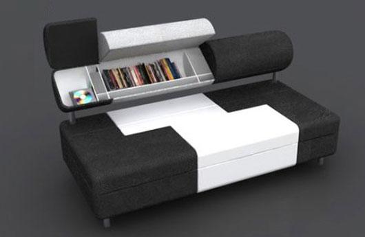 Compact Sofa Bed by Baita Design - TEVAMI