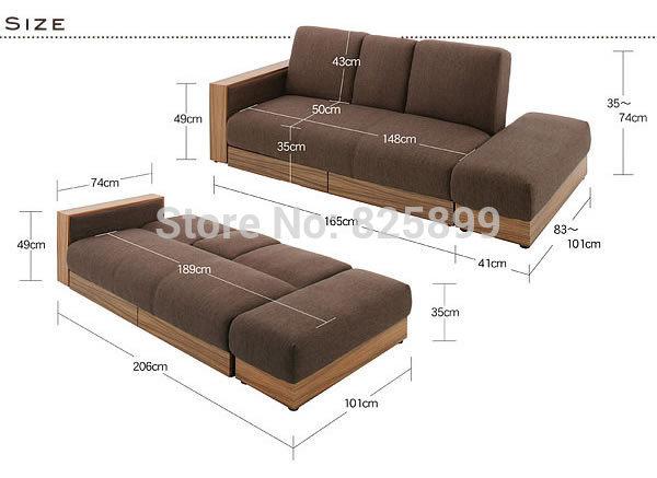5 in 1 air sofa bed/modern design sofa cum bed/wooden sofa cum bed