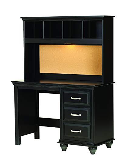 Amazon.com: Lang Furniture Madison Desk Hutch with Light, 12 by 45