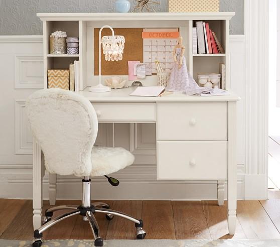 Madeline Storage Desk & Hutch | Pottery Barn Kids