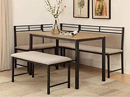 Amazon.com : Dinette Sets For Small Spaces-Dinning Room Table Set