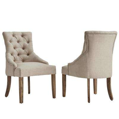 Parsons Chair - Beige - Dining Chairs - Kitchen & Dining Room