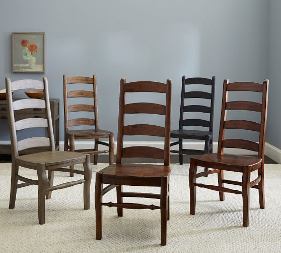 The dining chairs have a touch of class   and uniqueness