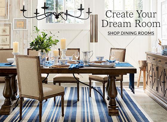 Dining Room Design Ideas & Inspiration | Pottery Barn