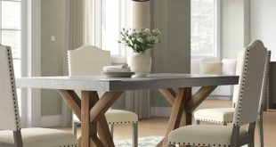 Charlton Home Wydmire Dining Table & Reviews | Wayfair