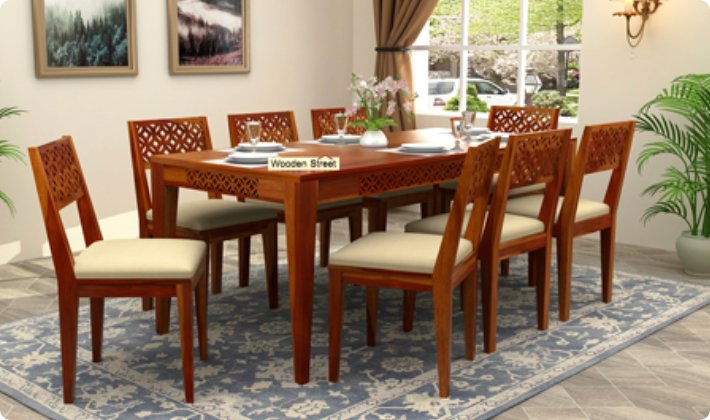 Dining Table Set: Buy Wooden Dining Table Set Online Upto 55 % OFF