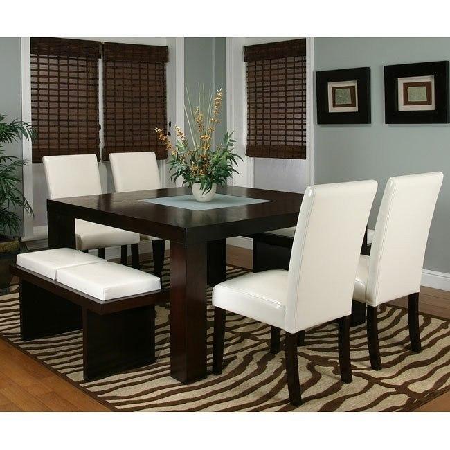 Kemper Square Dining Room Set (Ivory) by Cramco | FurniturePick