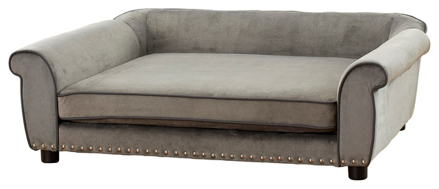 Outlaw Dog Sofa Bed - Contemporary - Dog Beds - by Enchanted Home Pet