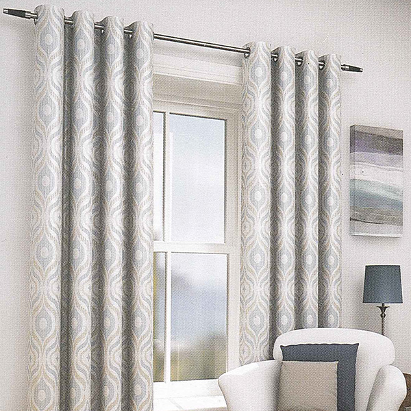 Lille Duck Egg Eyelet Curtains | Harry Corry Limited