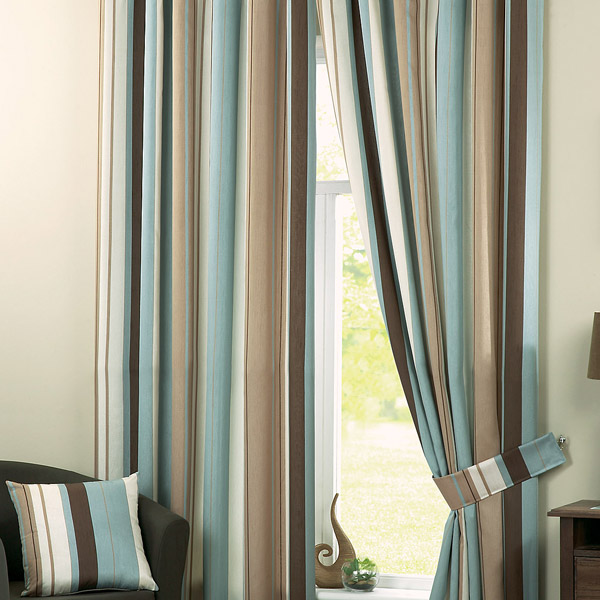 Whitworth Duck Egg Eyelet Ready Made Curtains | Eyelet Curtains