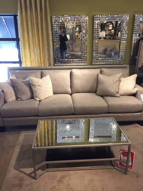 Fabric vs leather sofa