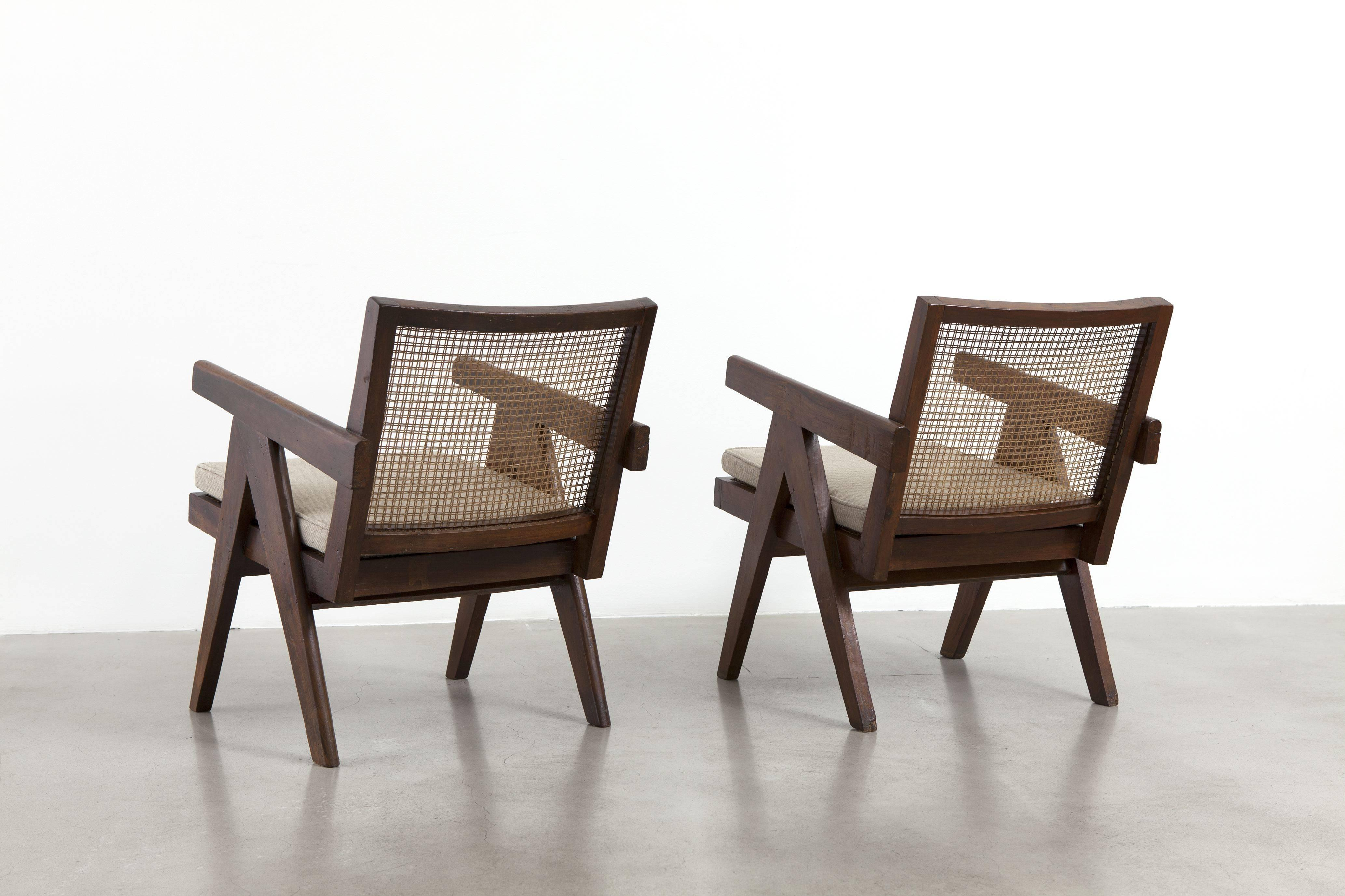 Pierre Jeanneret, Pair of