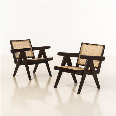 Easy Armchair by Pierre Jeanneret on artnet