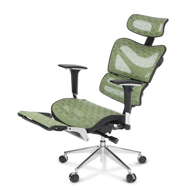 iKayaa Mesh Ergonomic Office Chair Swivel Tilt Executive Computer