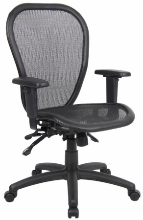 Ergonomic Mesh Office Chairs - Boss Ergonomic Open Mesh Office Chair