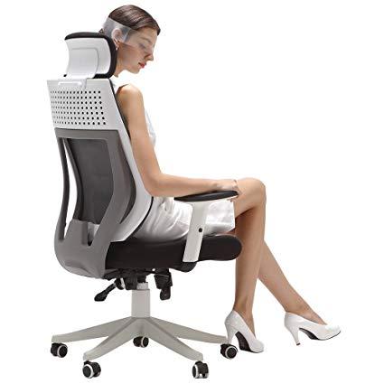 Amazon.com: Hbada Ergonomic Office Chair - High Back Adjustable Desk
