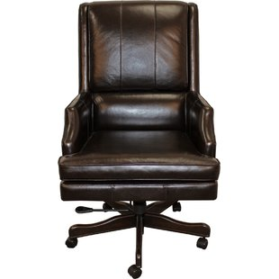 High-Back Leather Office Chairs You'll Love | Wayfair