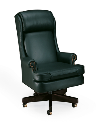 Executive Leather Desk Chair | Leather Office Desk Chair