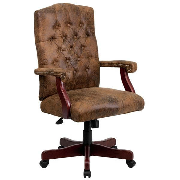 Shop Bomber Brown Classic Executive Office Chair - Free Shipping
