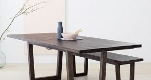 Logan Industrial Expandable Dining Table | west elm