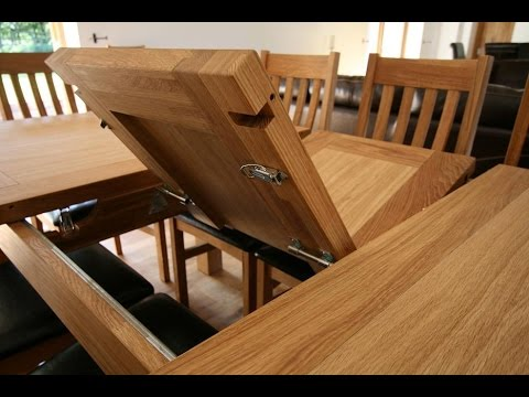 Expandable Dining Room Table - YouTube