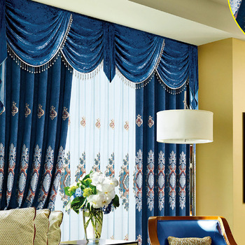 Ready Made Blackout Exquisite Embroidery Turkish Curtains - Buy