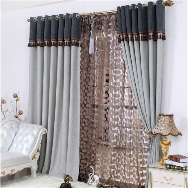 Exquisite curtain design to impress