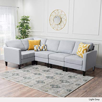 Amazon.com: Carolina Sectional Sofa Set, 5-Piece Living Room