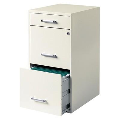 HIRSH 3-Drawer File Cabinet Steel : Target