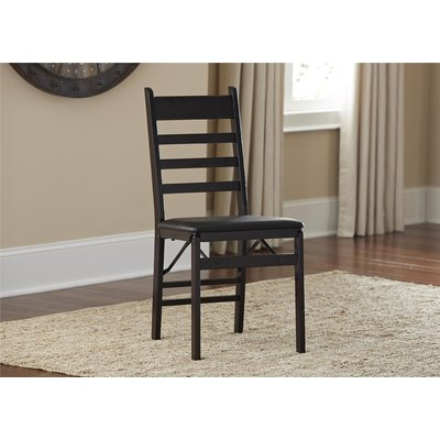 Charlton Home Manzanares Folding Dining Chair & Reviews | Wayfair
