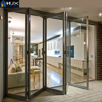 Folding Door Division Room Indoor Folding Door - Buy Indoor Folding