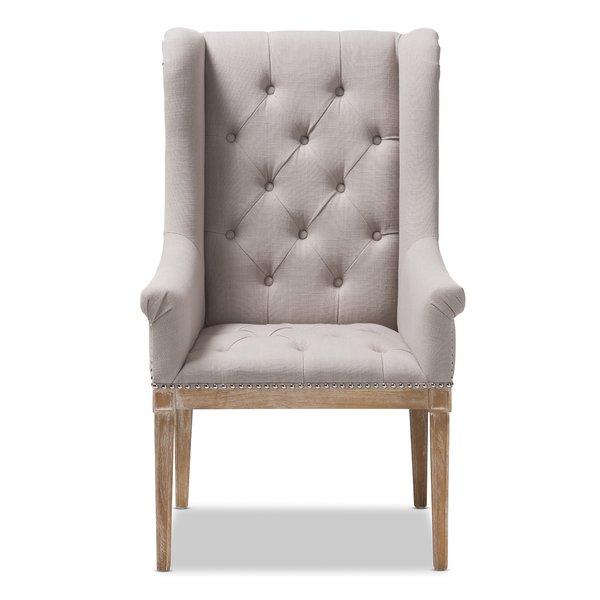 Gracie Oaks Rosnov French Armchair | Wayfair