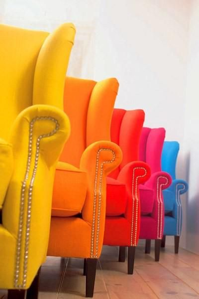Funky Armchairs in 2019 | Teen rooms and funky furniture | Colorful