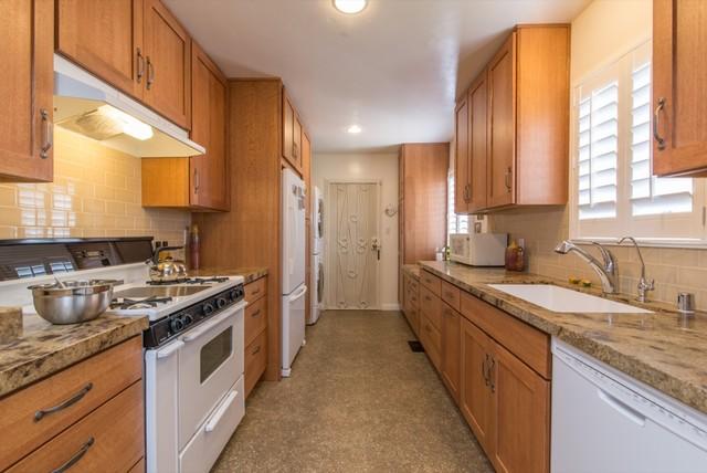 San Diego Galley Kitchen Remodel - Farmhouse - Kitchen - San Diego