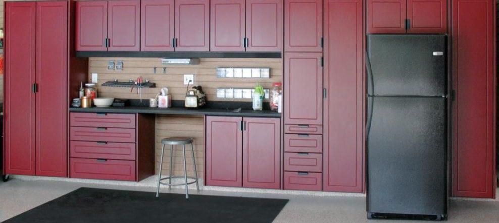 Redline Garage Cabinets - Ideal Garage Solutions