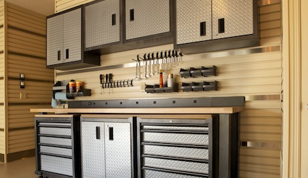 Garage Cabinets | Products | Lampert Lumber