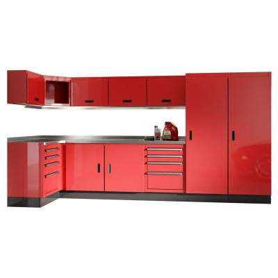 Red - Pick Up Today - Aluminum - Garage Cabinets & Storage Systems