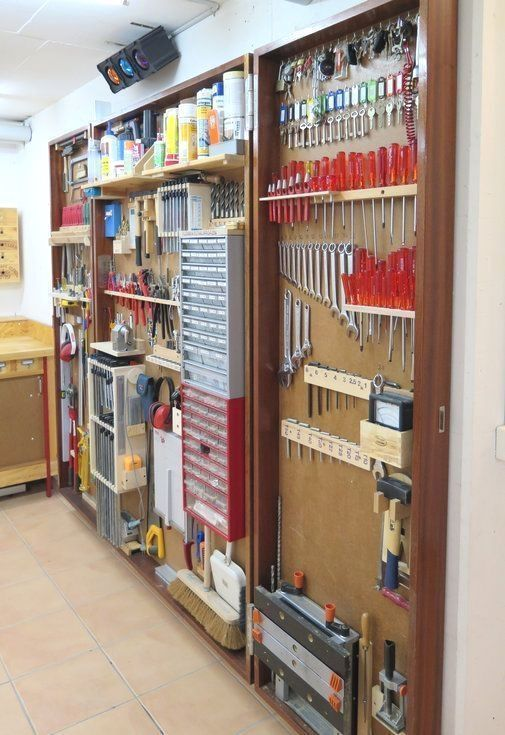 Garage Organization- CLICK PIC for Various Garage Storage Ideas