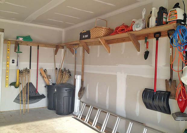 Garage Storage on a Budget u2022 The Budget Decorator