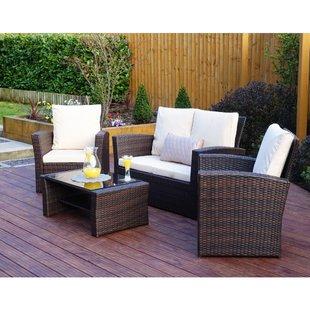 Rattan Effect Garden Furniture | Wayfair.co.uk