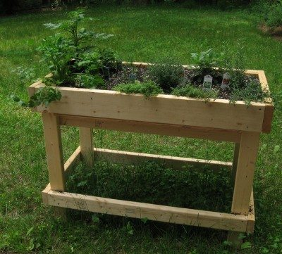 What Are Table Gardens - Information For Raised Garden Bed Tables