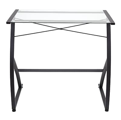 Staples Glass Computer Desk | Staples