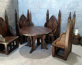 Gothic furniture | Etsy