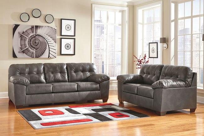 Alliston DuraBlend® - Gray - Sofa & Loveseat 20102/38/35