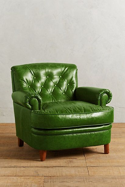 Leather Kimmeridge Armchair | design | Pinterest | Armchair, Green