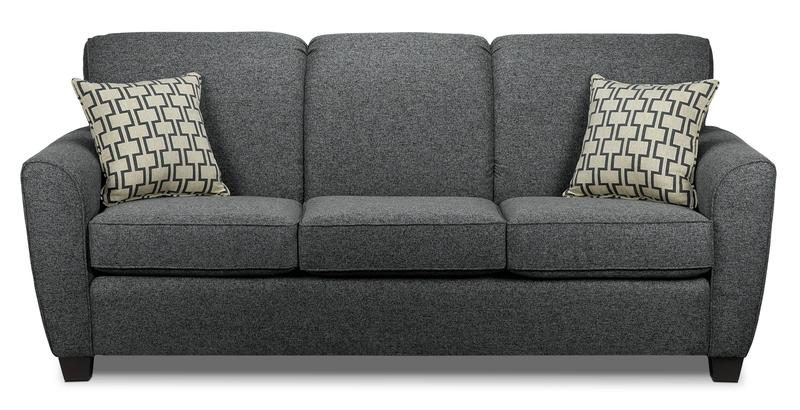 Ashby Queen Sofa Bed - Grey | Leon's