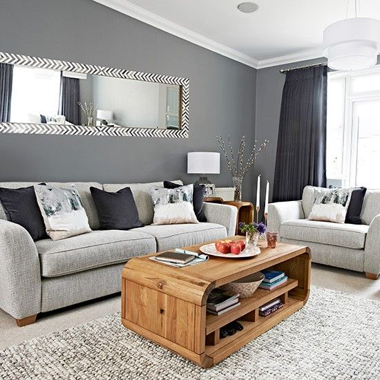 Grey living room ideas with the shades of   grey
