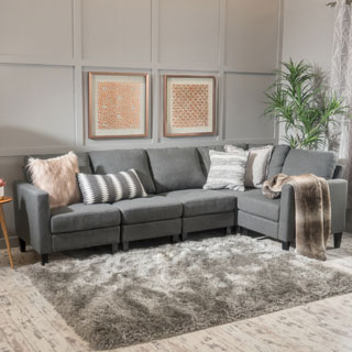 Buy Grey Sectional Sofas Online at Overstock | Our Best Living Room