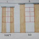 Information on hanging curtain panels